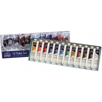 Winsor & Newton Cotman Water Color Set 12pcs x 8ml